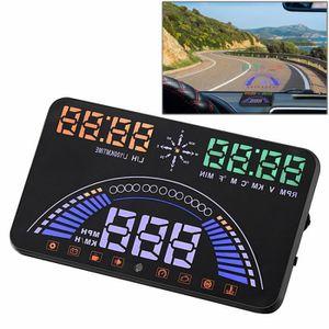 AFFICHAGE PARE-BRISE Affichage tête haute S7 5,8 pouces voiture GPS HUD