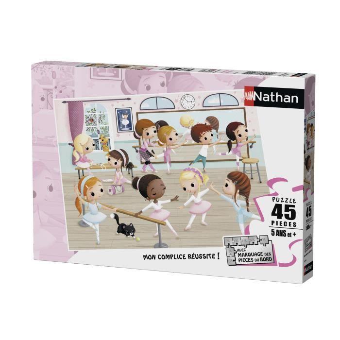Puzzle 45 pcs Petites Ballerines
