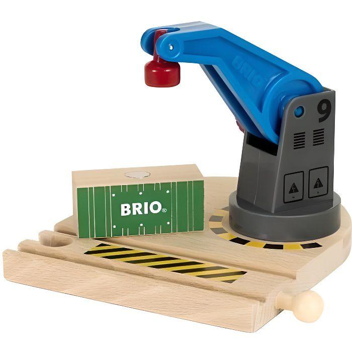 BRIO World - 33866 - Petite Grue - Jouet en bois