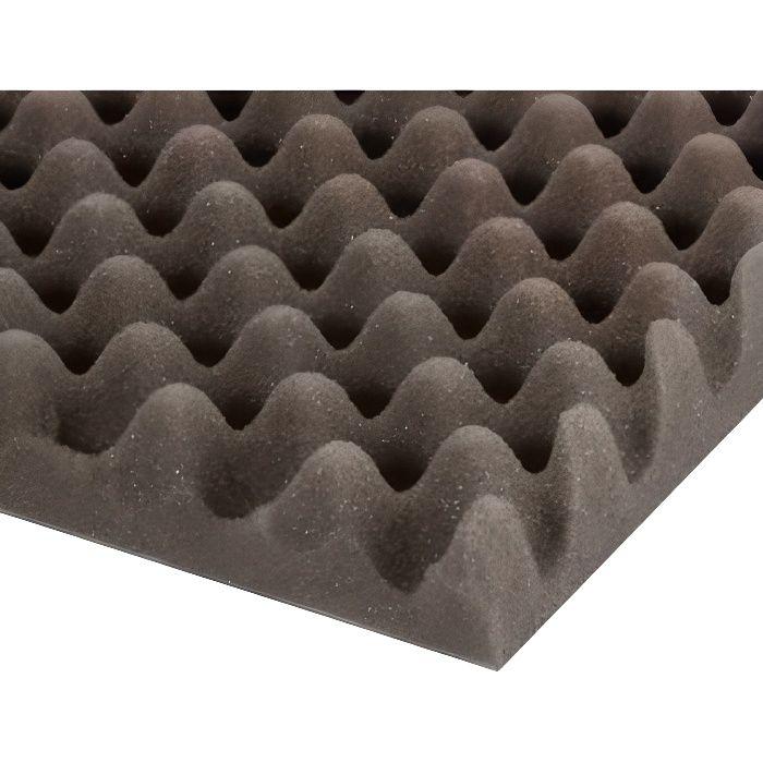 adam hall mousse acoustique alv ol e 200 cm x 100 cm x 30 mm panneau absorbant avis et. Black Bedroom Furniture Sets. Home Design Ideas