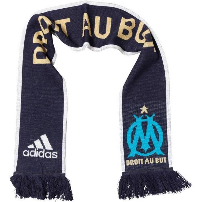 Echarpe Officielle Adidas OM Olympique de Marseille - Prix pas cher ... 1c0f03fbb7c