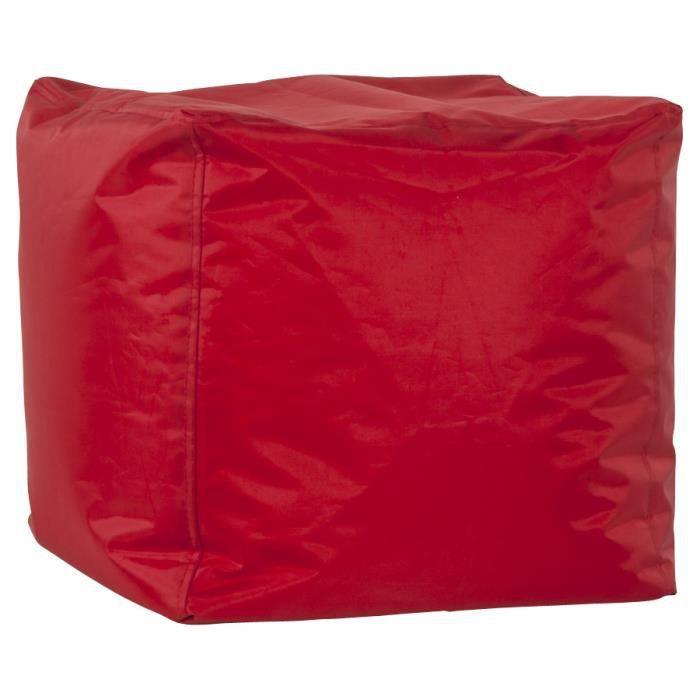POUF - POIRE Pouf d'appoint 'EASY' rouge