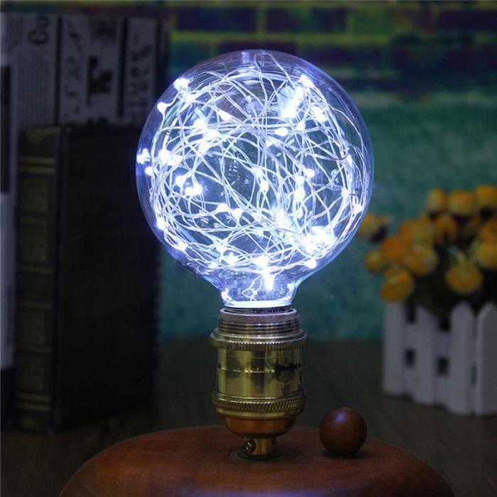 Led Décor Ampoule Lampe E27 Noël Fée De Dx2903 Starry Party Wh Chaîne rwzqr4