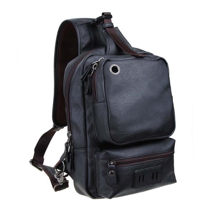 déséquilibre poitrine paquet sac à dos polyvalent bandoulière sac à bandoulière? PNFG0