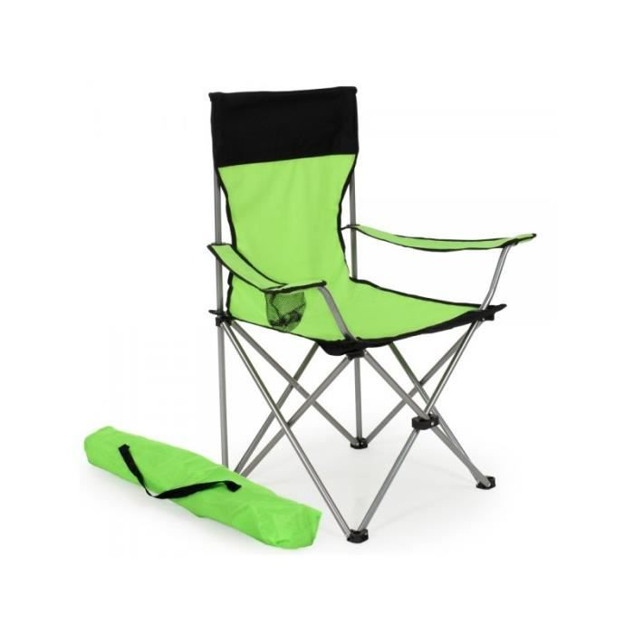 Chaise Pliante Camping Vert