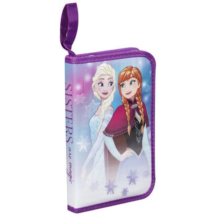 Coloriage Reine Des Neiges Anna Elsa Et Olaf.La Reine Des Neiges Disney Frozen 14ct Trousse Garnie Anna Elsa