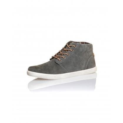 Chaussure semi montante grise homme