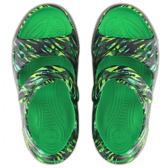 34 Sandales Sandales Crocs garçon 35 garçon Vert rggHqXnF8
