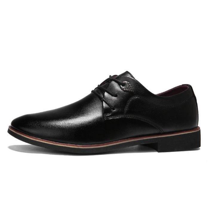 Chaussures En Cuir DéContracté Homme Fitness D'Affaires DéRapage Mode Pour Respirant Courir Noir 38 X85833_JEDDBOAE_9908 LsEpPlmJ9