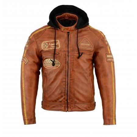 BLOUSON - VESTE Blouson - Veste cuir moto Vintage Taille L