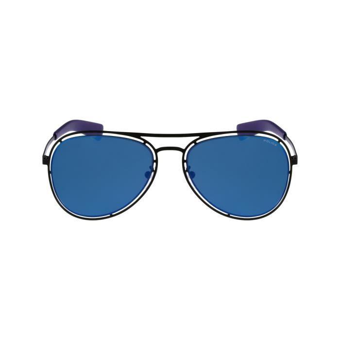Lunettes de soleil Police S8960 -531B Noir - Bleu Noir, Bleu - Achat ... c24388c90143