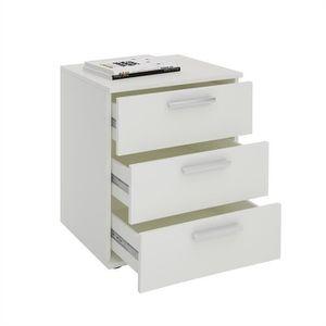 table de chevet 3 tiroirs achat vente table de chevet 3 tiroirs pas cher soldes d s le 10. Black Bedroom Furniture Sets. Home Design Ideas