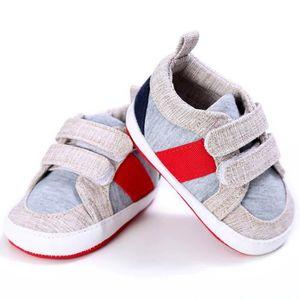 Frankmall®Bambin bébé cravate Soft crèche chaussures garçons filles occasionnelles chaussures NOIR#WQQ0926110 h2tNthraM