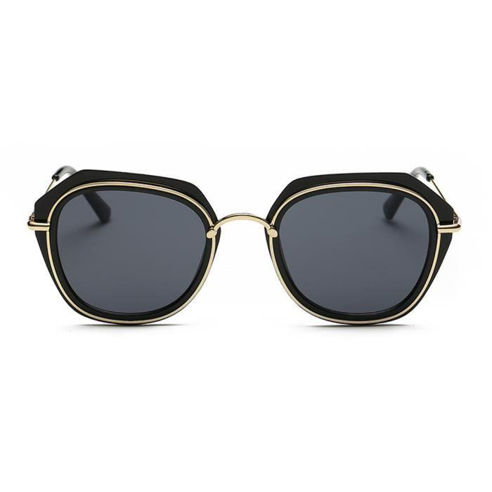 Sun Hommes cadre femme Lunettes 1 de pleine UV400 Flat miroir Glasses en soleil Femmes de métal EwdvqE