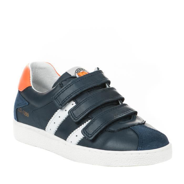 Baskets garçon - LITTLE DAVID - Bleu marine - JUMP1 11813703 - Millim