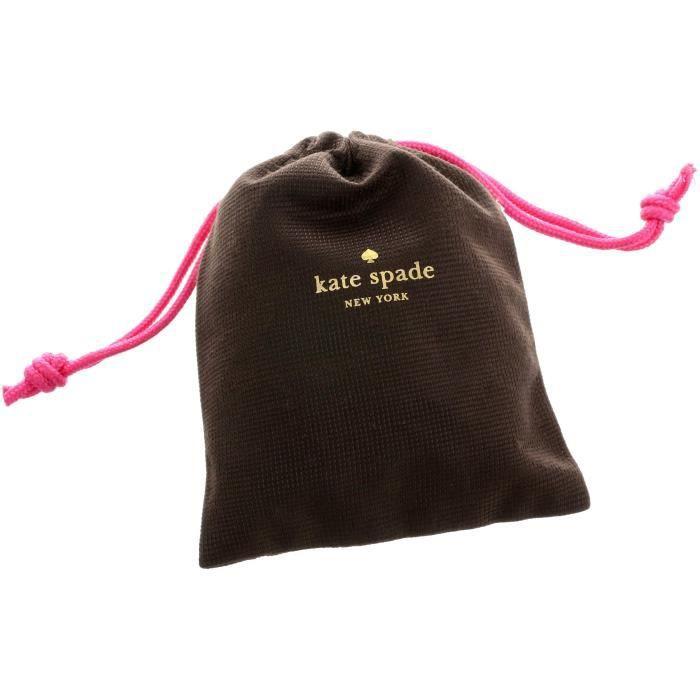 Kate Spade rose - multicolores boucles détats ZDULL