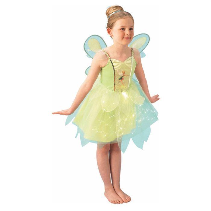 DÉGUISEMENT - PANOPLIE Costume Fées Clochette Taille M 5-6 ans