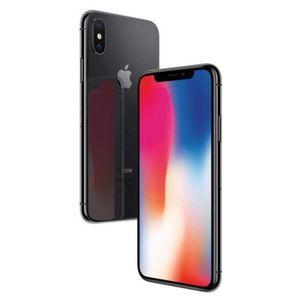 SMARTPHONE RECOND.  APPLE iPhone X Gris Sidéral 64 Go Reconditionné à
