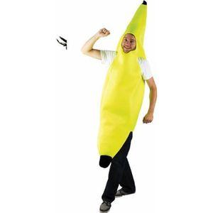 DÉGUISEMENT - PANOPLIE Déguisement Adulte Banane