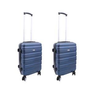 SET DE VALISES Lot de 2 valises cabines Worldline 55 x 35 x 20 cm