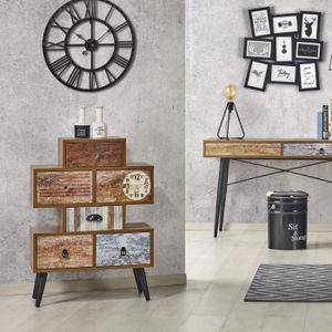 COMMODE DE CHAMBRE Cabinet de rangement / Commode vintage - PATCHWORK
