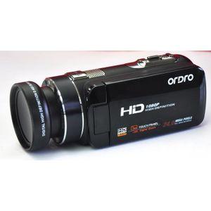 CAMÉSCOPE NUMÉRIQUE Caméscope Full HD 1080p, zoom numérique 16x, 3.0 L