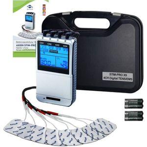 APPAREIL ÉLECTROSTIM Électrostimulateur TENS/EMS - 4 canaux - 43 modes