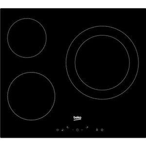 PLAQUE VITROCÉRAMIQUE  Plaque de cuisson. BEKO HIC63402T