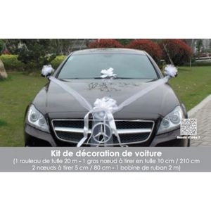 Ruban Noeud Mariage Voiture Achat Vente Pas Cher