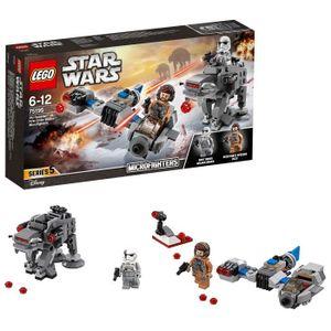 ASSEMBLAGE CONSTRUCTION Lego 75195 Star Wars Ski Speeder Vs. Premier Ordre