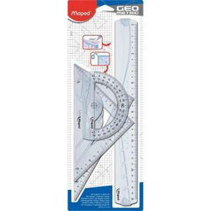 JEU DE COLORIAGE - DESSIN - POCHOIR MAPED Kit de 3 pièces de traçage Geometric