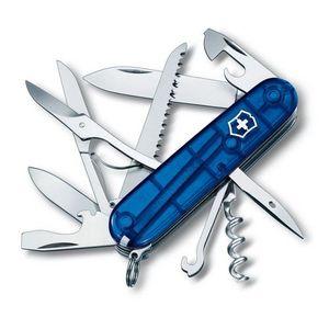 COUTEAU MULTIFONCTIONS Couteau Suisse Victorinox Huntsman 13713T2 Bleu