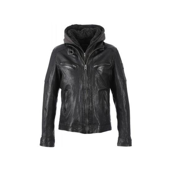 Veste en cuir oakwood pour femme
