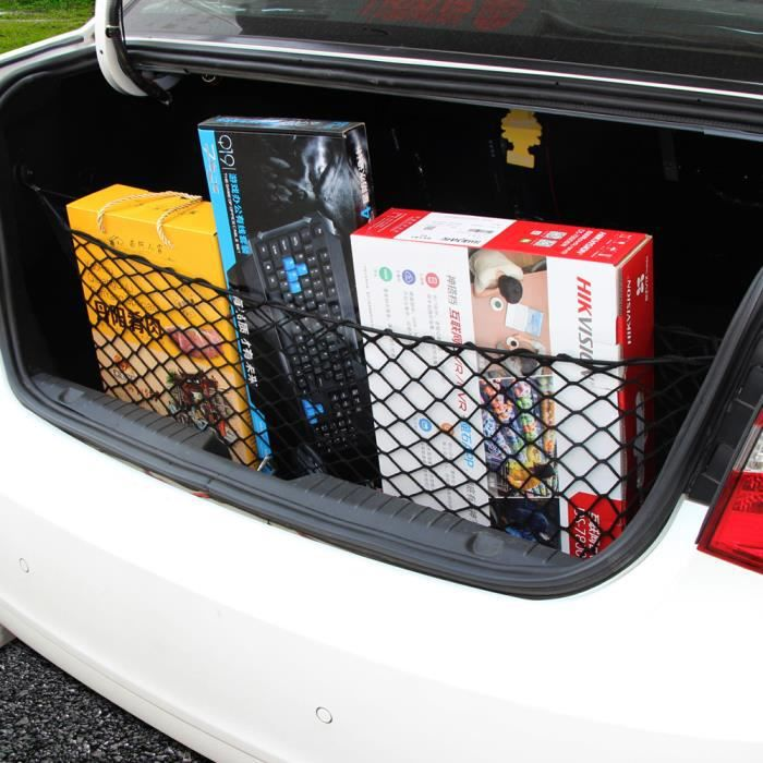 nylon filet de coffre arri re elastique charge bagage cargaison pour toyota prius avalon sequoia. Black Bedroom Furniture Sets. Home Design Ideas