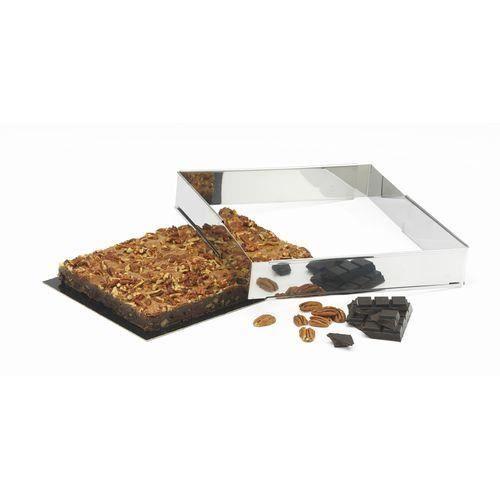 PATISSE Cadre à pâtisserie extensible en inox - 4,5 cm - Gris