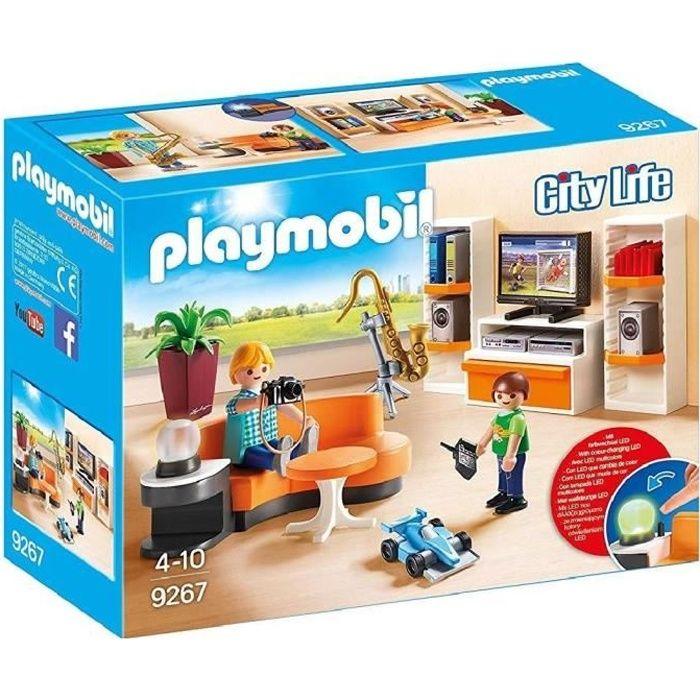 Salon playmobil achat vente jeux et jouets pas chers for Salon playmobil