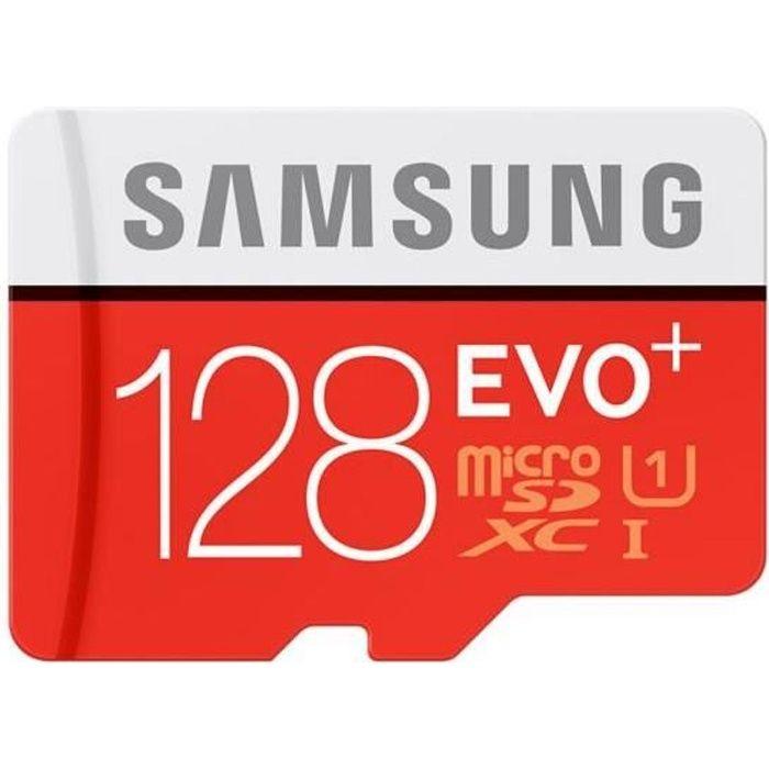 CARTE MÉMOIRE Mémoire SAMSUNG Micro SD 128Go EVO PLUS