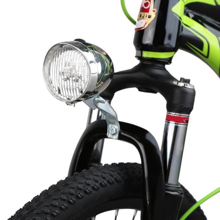 3 Style De Bicyclette Lampe Lumière Avant Vélo Led Frontale Vintage 6fYb7yg