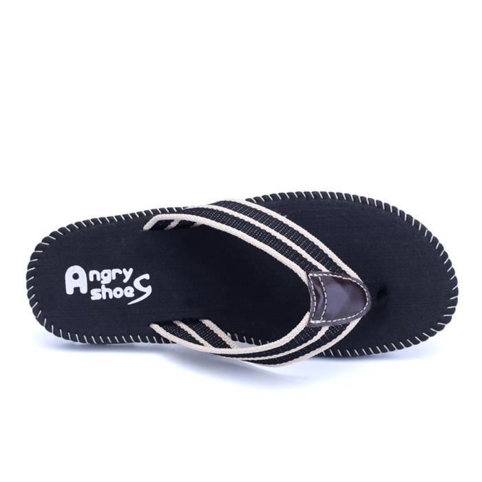 chaussure homme Confortable Plage sandale homme Sandales Nouvelle Mode chaussure marque de luxe Haut qualité tongs Taille xuRypR9ySR