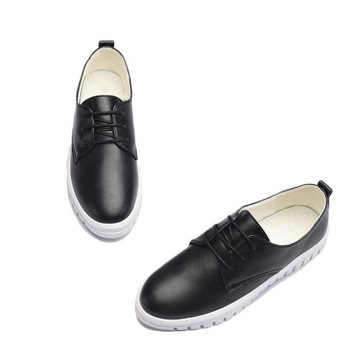 Skateshoes Femme Outdoor Sneaker Sweat de la femme Absorption dermique noir taille4.5