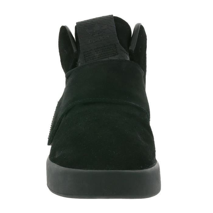 adidas Originals Tubular Invader Strap Hommes Noir Formateurs BY3632