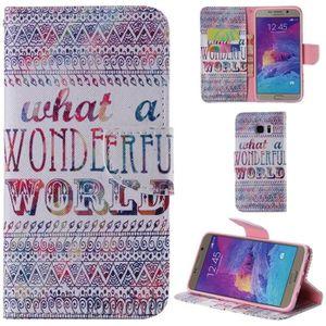 COQUE - BUMPER ® Samsung Galaxy Note 5 Coque PU Leather Flip Cove
