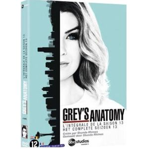 DVD SÉRIE Grey's Anatomy - Integrale Saison 13 (DVD)