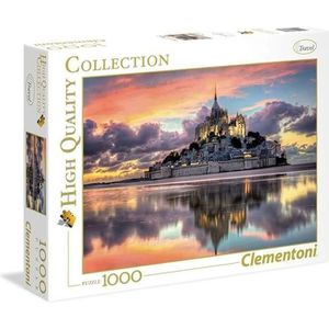 PUZZLE CLEMENTONI Le magnifique Mont Saint-Michel Puzzle