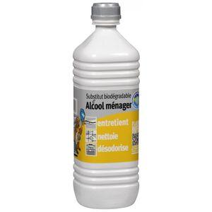 ALCOOL À BRÛLER Substitut alcool ménager 1L Biodégradable