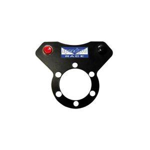 HAUT-PARLEUR - MICRO Platine alu 2mm 2 boutons pour volant