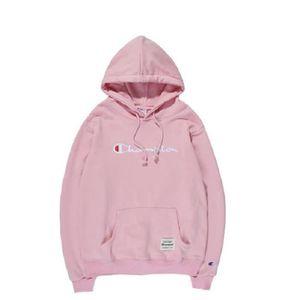 nouveau concept style de mode texture nette Taille- L -Couleur-Rose ) VOLIBEAR® 1PC Champion Sweatshirts ...