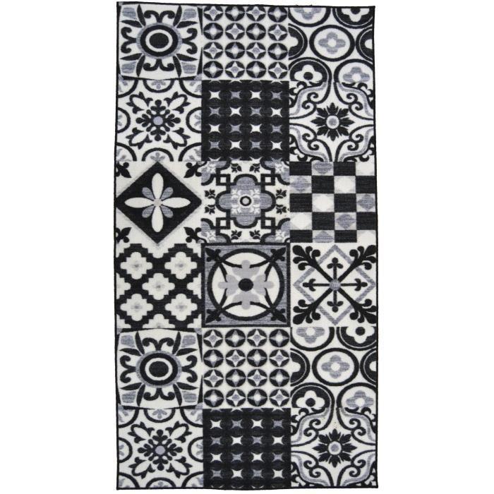 Tapis Utopia 500 - Noir 80x150cm - Hauteur fil 5,5mm - Densité 1250 gr/m2 - 100% PolyamideTAPIS - DESSOUS DE TAPIS