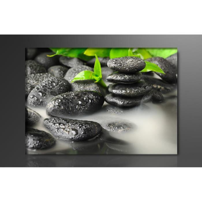 tableau moderne imprime zen achat vente tableau. Black Bedroom Furniture Sets. Home Design Ideas
