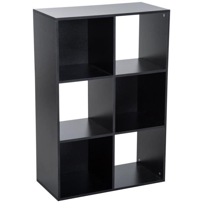 Etagere cube noir - Achat / Vente pas cher
